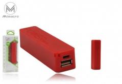 Powerbank Modelo 102 2600mAh - Vermelho (Un)