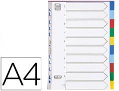 Separadores A4 10 Posicoes Plastico (Un)