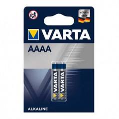 Pilhas Alcalinas LR61 1,5V AAAA (2Un) (Varta)