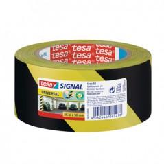 Fita Adesiva TESA SIGNAL segurança Preto/Amarelo 50mmx66mts(15x66)(Un)