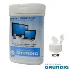 Toalhetes Limpeza Monitores e Teclados Grundig (Un)