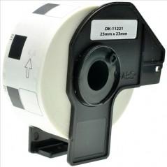 CPT Brother DK11221 Etiquetas Quadradas 23x23mm 1000Un