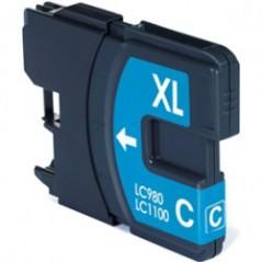 CTI Brother LC1100C/LC980C Tinteiro Azul MFC6490CW