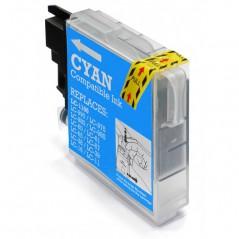 CTI Brother LC1100C/LC985C/LC980C Tinteiro Azul (CPT)