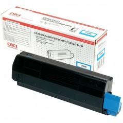 Oki 42127456 Toner Azul C5250/C5450/C5510MFP Alta Cap