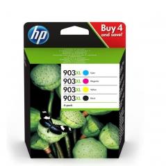 HP 3HZ51AE (Nº903XL) Tinteiro Pack 4 Cores Officejet 6950/6960/6970