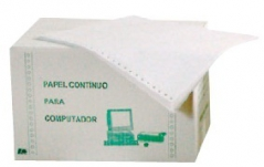 Papel Continuo 6x9,5  1via cx 4000fls