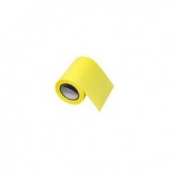 Bloco Adesivo em Rolo 60mmx8mts Amarelo Fluorescente