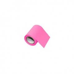 Bloco Adesivo em Rolo 60mmx8mts Rosa Fluorescente