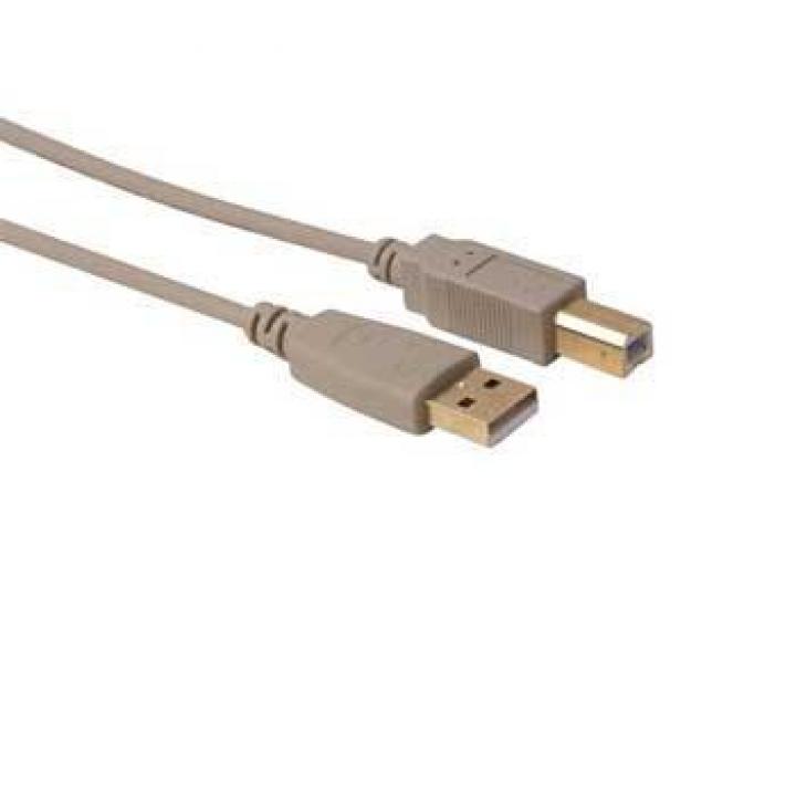 Cabo USB A/B M/M 1m