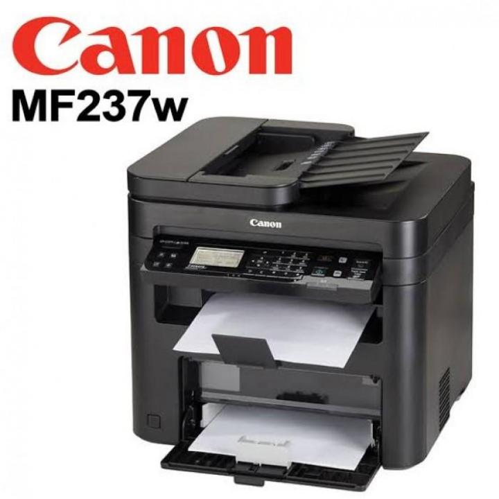 Impressora Canon MF237W Multifunções Laser Preto Fax Wireless Touch P