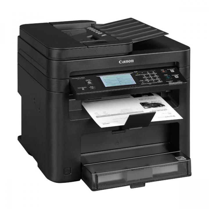 Impressora Canon MF217W Multifunções Laser Preto Fax Wireless Touch P