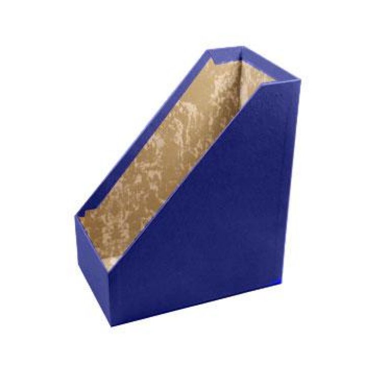 Porta Revistas Cartão L15,5 (30x25) Azul (Un)