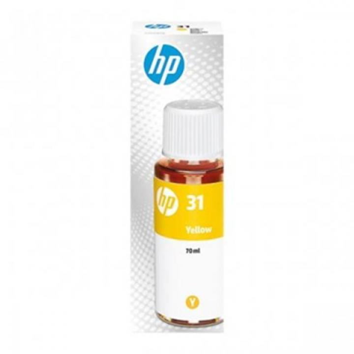HP 1VU28A (Nº31XL) Tinteiro Amarelo HP Smart Tank 315/ Plus 555/570/655/550 Series/559/Wireless 450 Series 70ml 8000 Pág.
